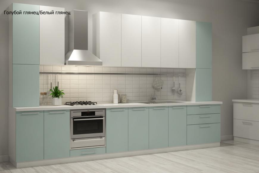 Кухня модерн прямая - 12