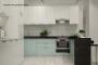 Кухня модерн угловая с барной стойкой - 14