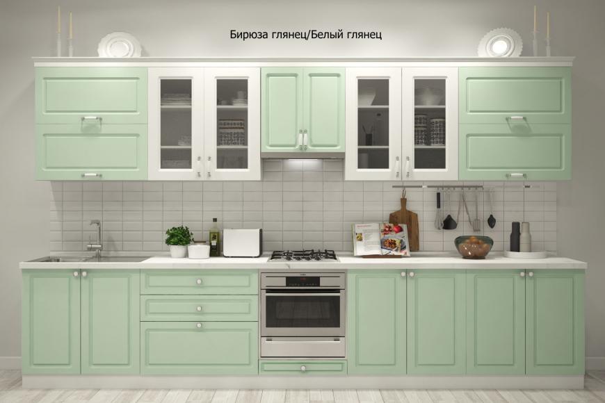 Кухня неоклассика прямая - 3