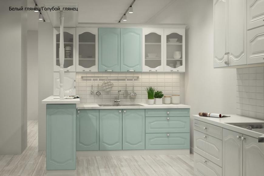 Классическая прямая кухня
