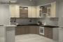 Классическая угловая кухня - 25