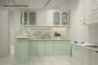 Классическая прямая кухня - 15