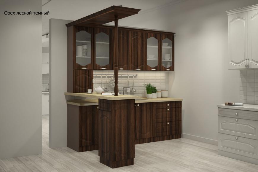 Классическая прямая кухня - 6