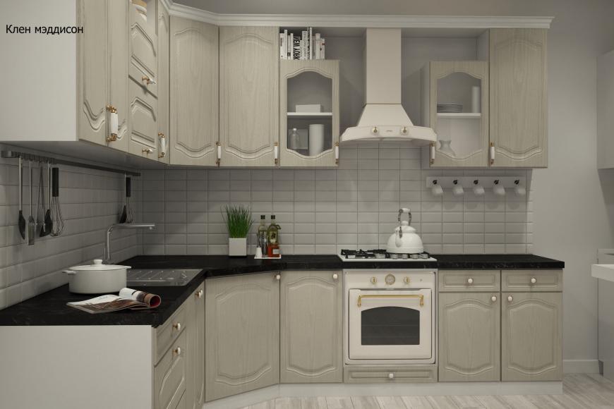 Классическая угловая кухня - 6