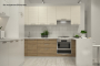 Кухня модерн угловая с барной стойкой - 21