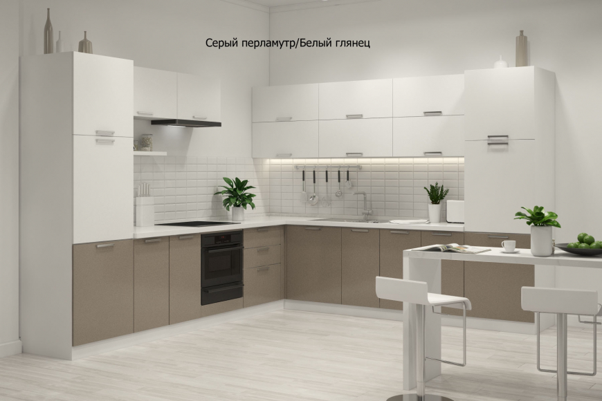 Кухня модерн угловая - 6