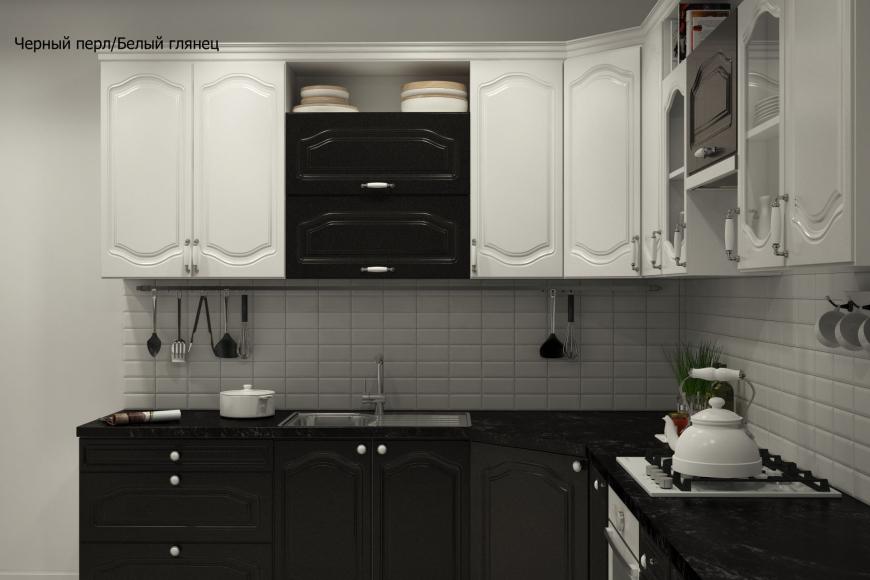 Классическая угловая кухня - 13