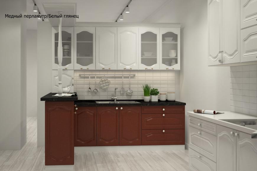 Классическая прямая кухня - 5