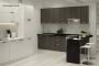 Кухня модерн угловая с барной стойкой - 19