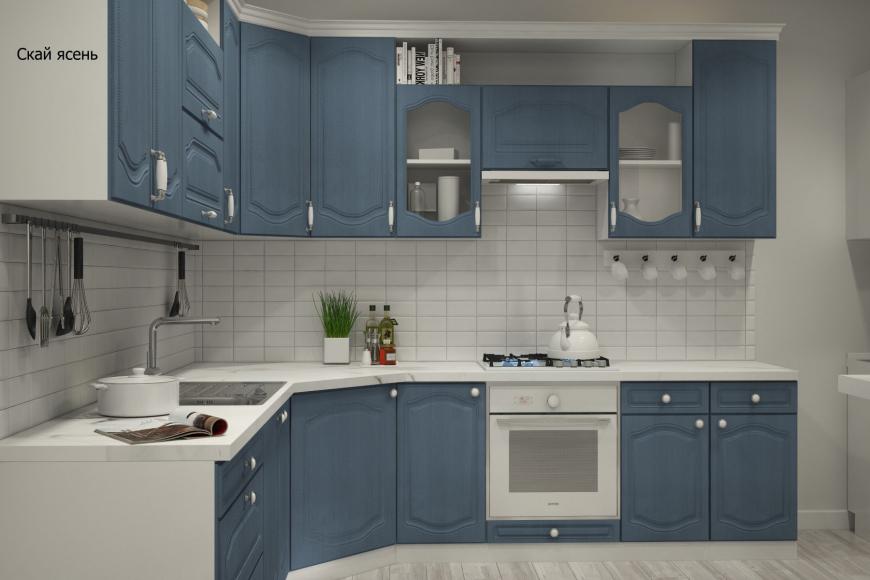 Классическая угловая кухня - 11