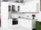 Кухня МДФ глянец белый - 9